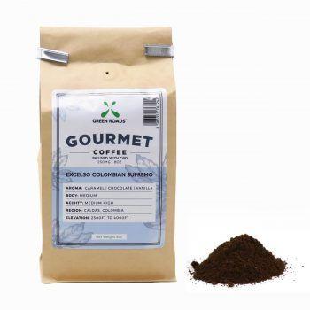 CBD Coffee 8oz   Healthy Green CBD Oil