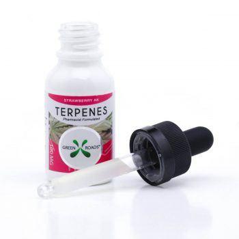CBD Terps Oil Strawberry AK   Healthy Green CBD Oil