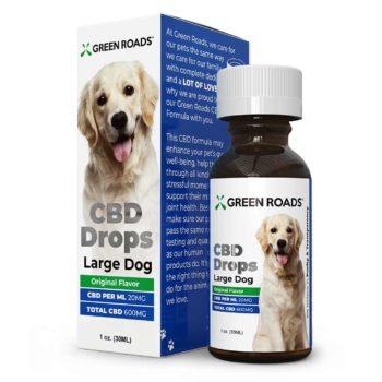 CBD Drops Dogs   Healthy Green CBD Oil