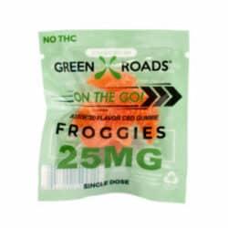 CBD Froggie – 25 mg   Healthy Green CBD Oil