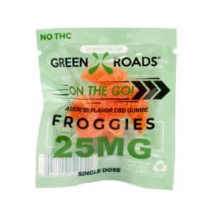 CBD Froggie – 25 mg | Healthy Green CBD Oil