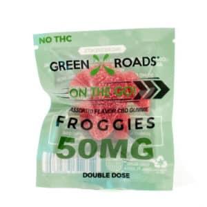 CBD Froggie – 50 mg   Healthy Green CBD Oil