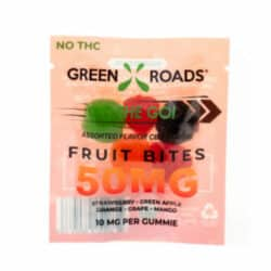 CBD Fruit Bites – 50 mg | Healthy Green CBD Oil