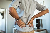 Man With Severe Back Pain