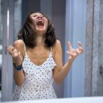 Woman Experiencing Severe Pain