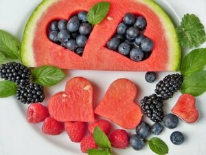 Watermelon And Berries Are Great Heart Healthy Foods